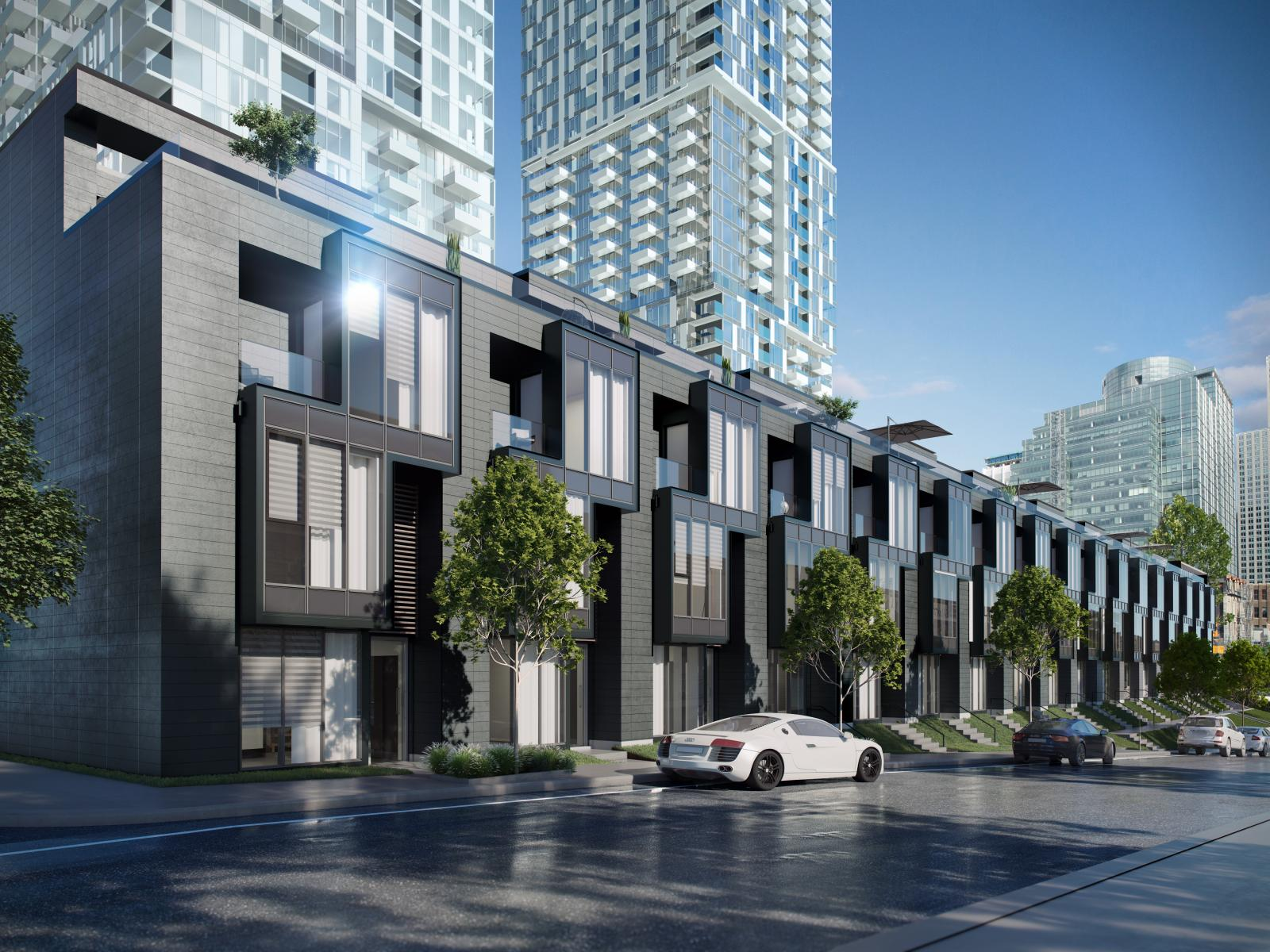 YUL - townhouses | Houses in Downtown
