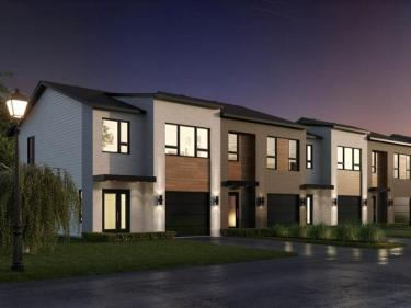La Seigneurie de Mirabel - townhouses - New houses in the Laurentians: 3 bedrooms
