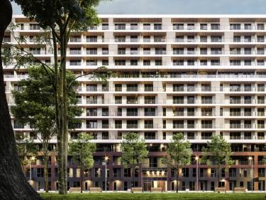 Amati Condominiums, par District Griffin - Projets immobiliers dans Griffintown