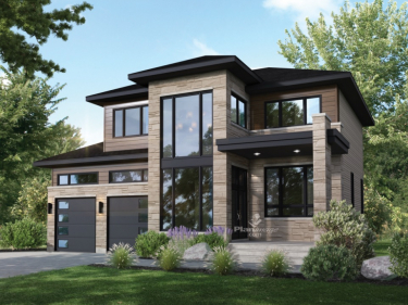 Les Terres d'en haut - New houses in Sorel-Tracy with model units in delivery