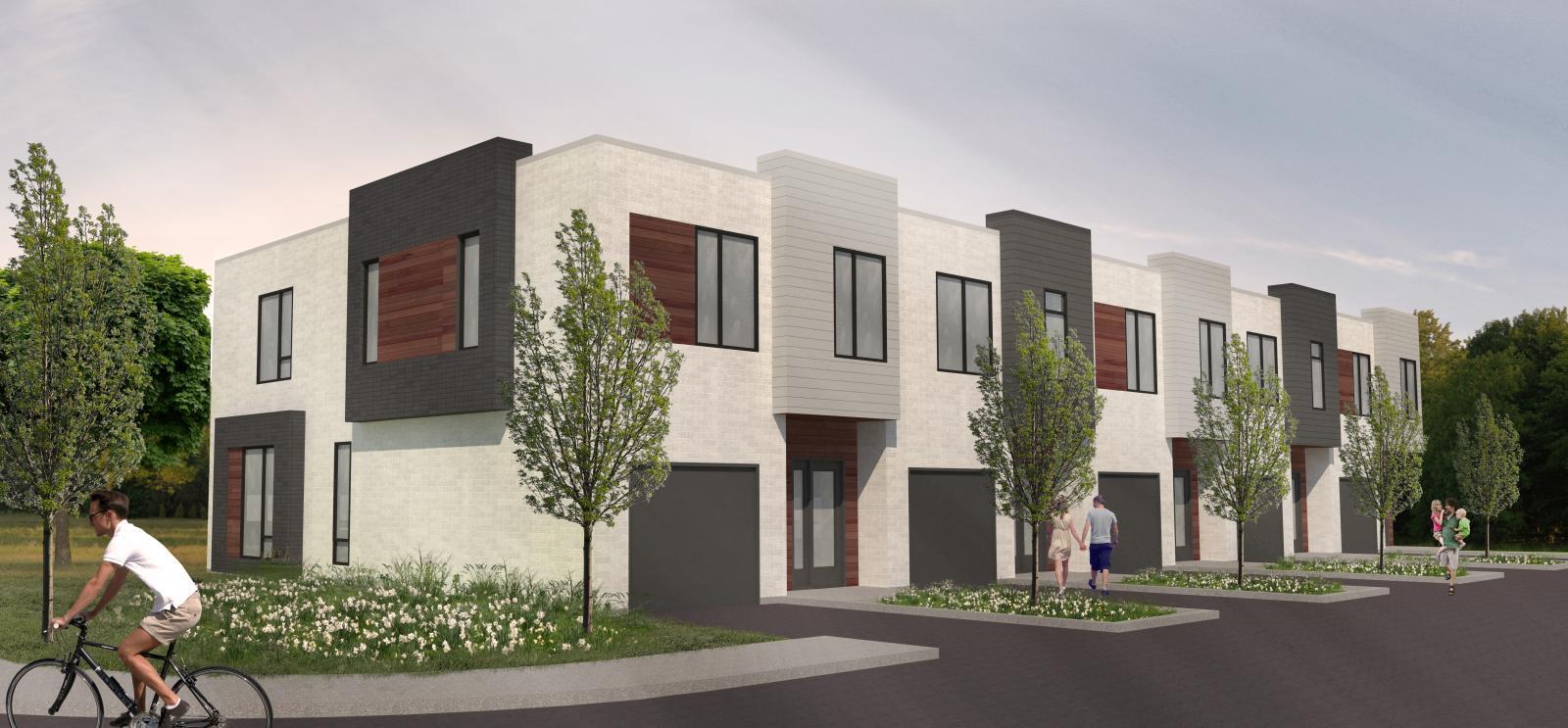 Elegant les habitats urbains groupe mathieu maisons neuves for Maison moderne nancy