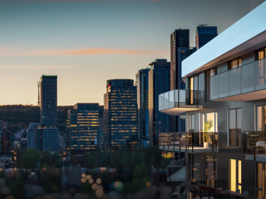 NOCA - New condos in Griffintown with elevator with pool: 1 bedroom
