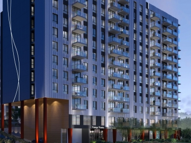 Les Tours Saint-Martin - New Rentals in Laval near the metro: $200 001 - $250 000