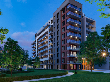 Kubik Pointe-Claire Phase 3 - New condos in Beaconsfield with elevator with pool with gym: 1 bedroom