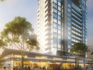 Voltige - Panora Tower: condos for rent - New condos in Ahuntsic with elevator with pool