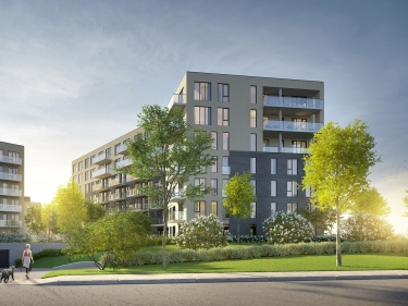 Le Quatrième- condos - phase 3 - New condos in Dorval in delivery with elevator with pool: $450 001 - $500 000