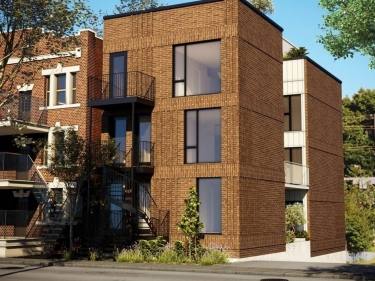 New condos in Town of Mount Royal