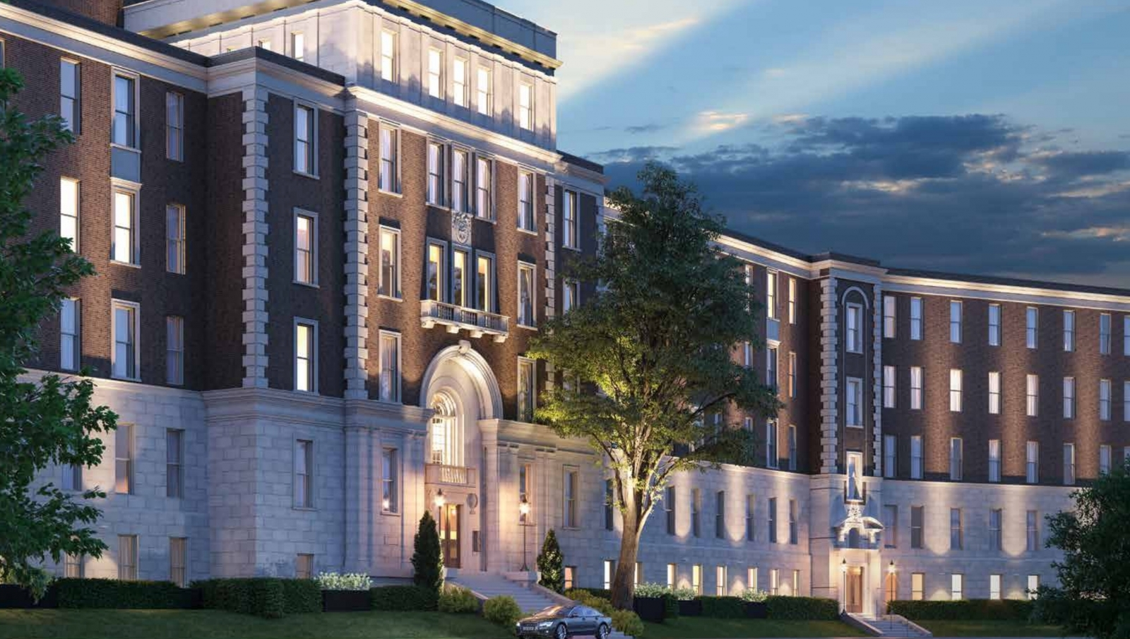 New condos in Outremont