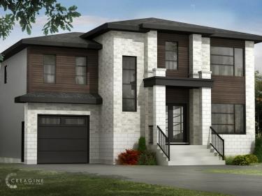 Les Jardins du Coteau - Cottages et bungalows par Rheault Construction - Maisons neuves dans Lanaudière: 2 chambres