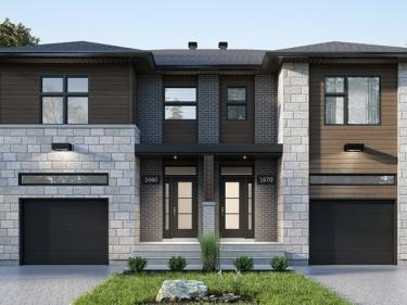 Les Jardins du Coteau - Cottages semi-détachés par Construction SRK - Maisons neuves dans Lanaudière en construction