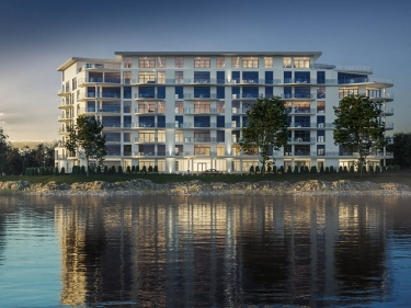 36Lakeshore Condominiums - New condos in Dollard-des-Ormeaux with elevator with pool: 3 bedrooms