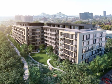 U31- phase 4 - New condos in the Centre-Sud with elevator with garage with pool