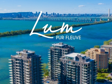 Lum Pur Fleuve - condos for sale - New condos in Monteregie