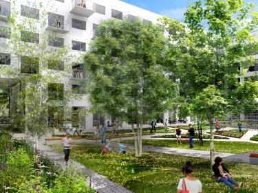 Cité Angus - Condos neufs dans Rosemont