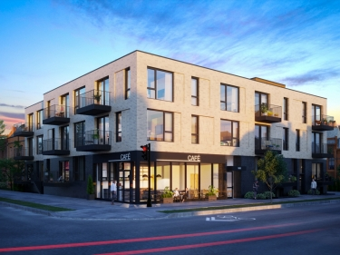 Le Barista - New condos in Petite-Patrie with model units