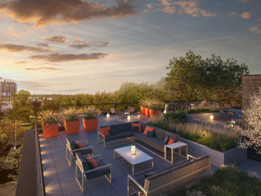 HenriB - New condos in Mont-Royal with model units with elevator with pool: $300 001 - $350 000