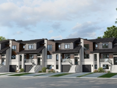 Côté Cour - New houses in Boucherville in delivery: $250 001 -$ 300 000