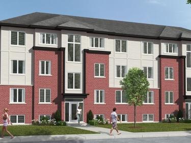 Les condos du Quartier St-Louis - Condos neufs à Prévost: 3 chambres