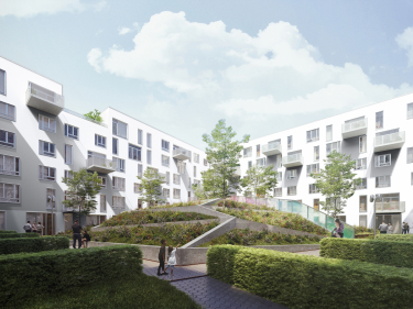 Cité Angus - townhouses - New houses in the Village