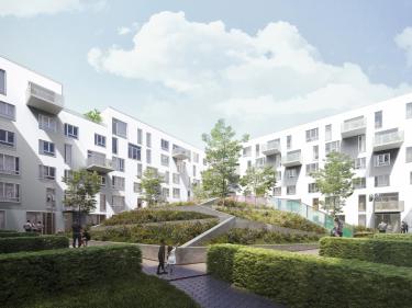 Cité Angus - maisons de ville - Maisons neuves dans Rosemont