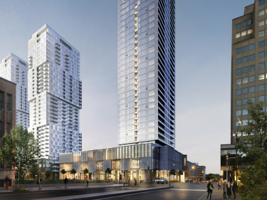 The QuinzeCent - New condos in Downtown with elevator with outdoor parking with pool