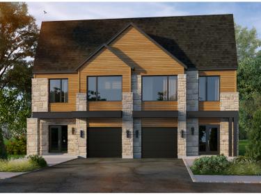 Les Jardins du Coteau par Les Constructions Lacourse - Maisons neuves à Terrebonne: 2 chambres