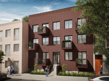 Le Beaudry 2 - New condos in Plateau-Mont-Royal with elevator with pool: 3 bedrooms