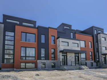KAÏA Townhouses - New houses in Saint-Constant move-in ready: 3 bedrooms