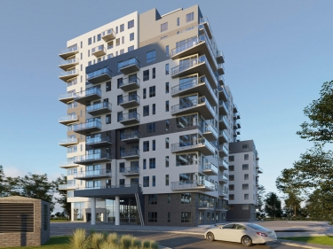Areve - phase 2 - New condos in Côte-Saint-Paul with model units with elevator with pool