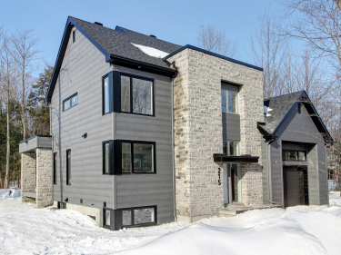 Éco Nature – Domaine inspiré - New houses in the Mauricie region