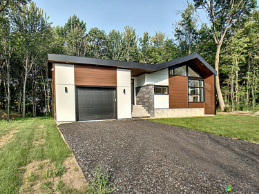 Baie-Jolie - Quartier naturel - New houses in the Mauricie region
