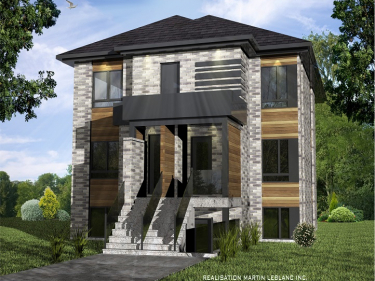 Le Carrefour - New houses in Mont-Saint-Grégoire in presale in delivery
