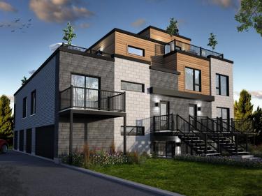 Le 64 du Parc - Condos neufs à Laval-des-Rapides avec garage