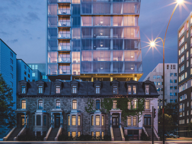 Enticy - New condos in Montreal with outdoor parking with gym