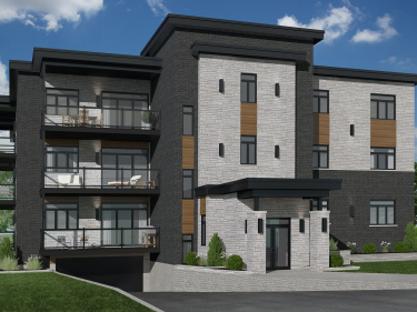 Au tournant de l'île - New condos in Pointe-aux-Trembles in delivery with elevator with pool: 3 bedrooms