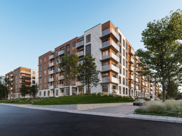 Noria - phase 1 - New condos in Montreal with outdoor parking