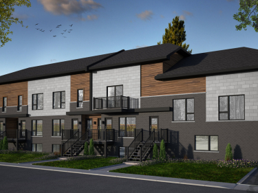 Le 44 Clermont - New condos in Laval-des-Rapides with model units