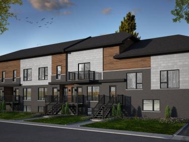 Le 44 Clermont - Condos neufs à Laval-des-Rapides: 2 chambres