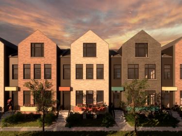 Square Norseman - Maisons neuves à Montréal avec garage